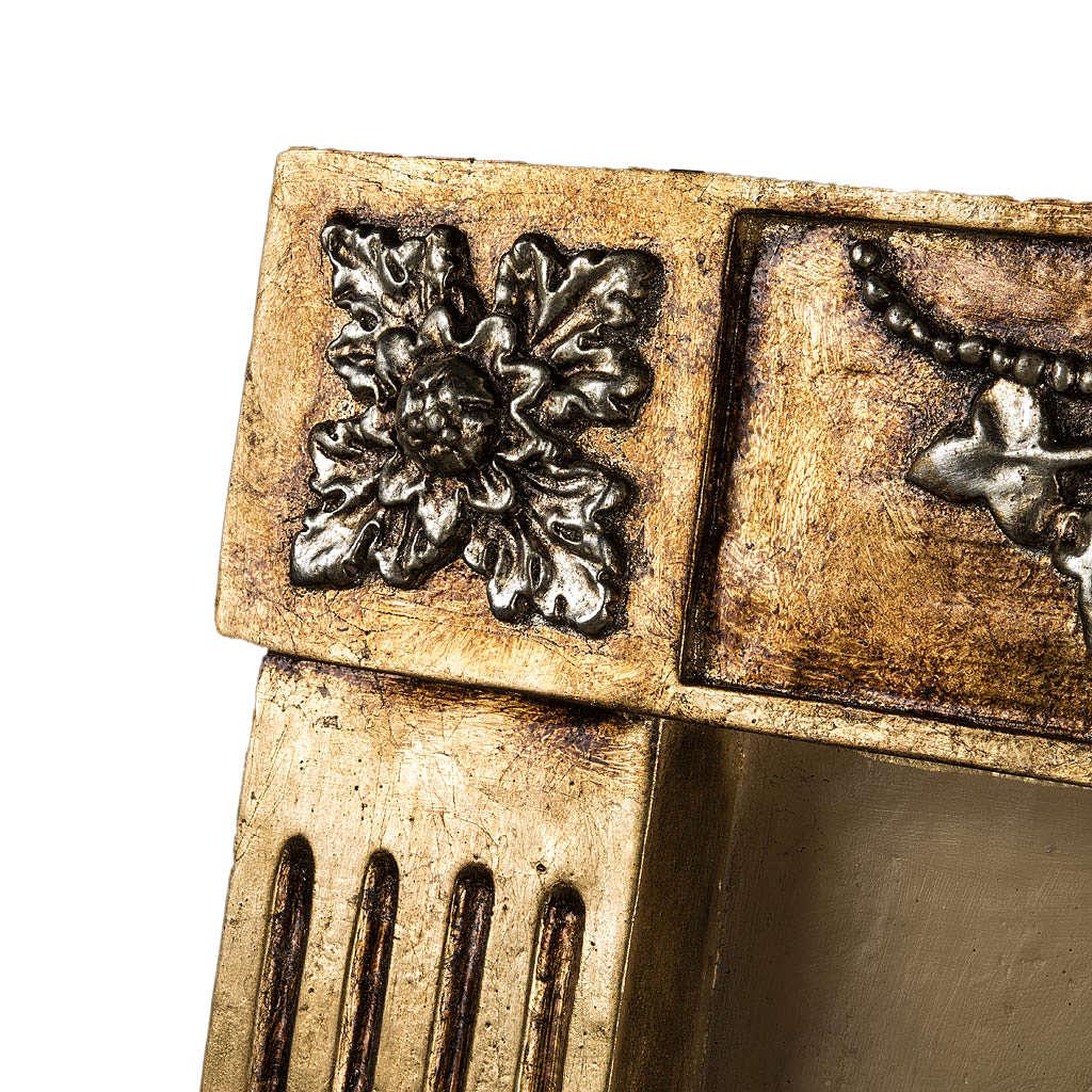Última Cena bajorrelieve pasta de madera 110x122cm 4