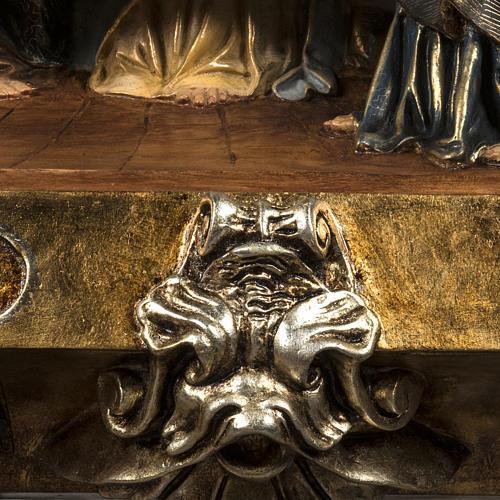Ultima Cena bassorilievo pasta di legno 110x122 cm extra 8