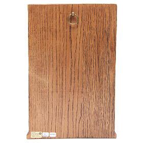 Bassorilievo Crocifissione di Silos 37,5x24,5 cm legno Bethléem s4
