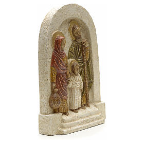 Bassorilievo Sacra Famiglia Bethléem 18x13 s2