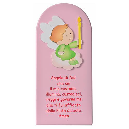 Quadro Santo Anjo madeira 5