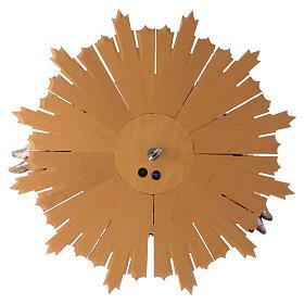 Bajorrelieve Espíritu Santo 44 cm madera Val Gardena Antiguo Gold s5