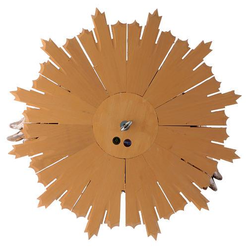 Bajorrelieve Espíritu Santo 44 cm madera Val Gardena Antiguo Gold 5