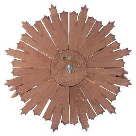 Bajorrelieve Espíritu Santo madera Val Gardena multipatinada s4