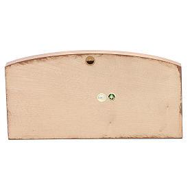 Bassorilievo Ultima Cena legno Valgardena multipatinato s4
