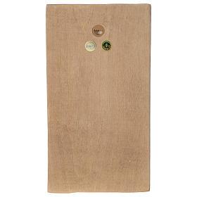 Płaskorzeźba Dłonie Złożone drewno Valgardena patynowane s4