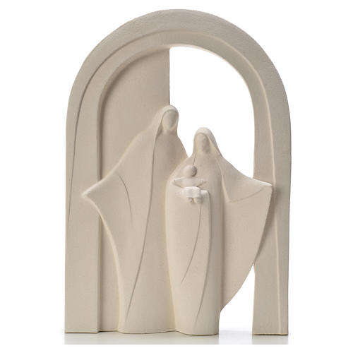 Sagrada Familia Pórtico arcilla refractaria 1