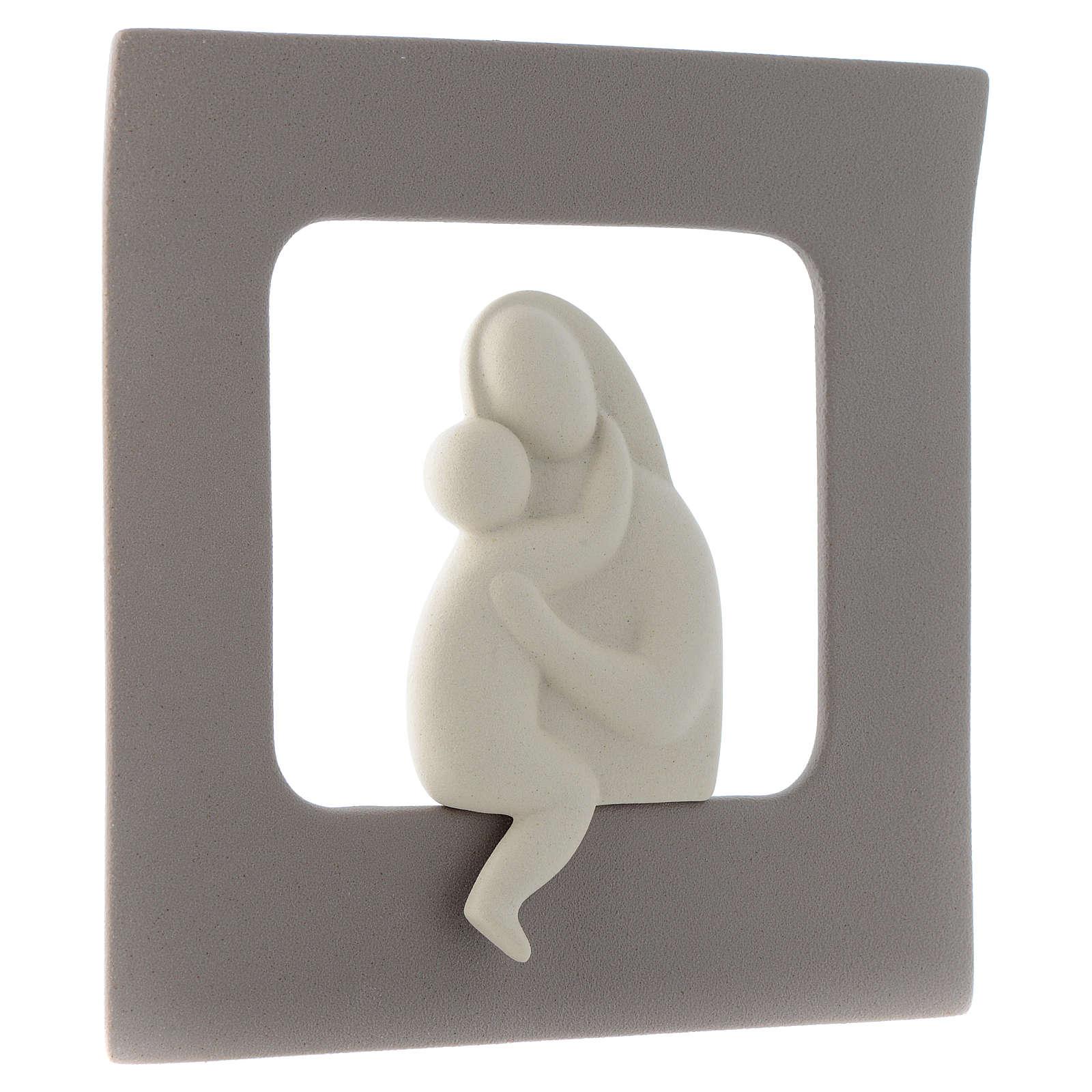 Bassorilievo Maternità gres porcellanato 30X30 cm 4