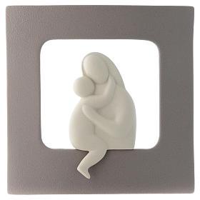 Bassorilievo Maternità gres porcellanato 30X30 cm s1