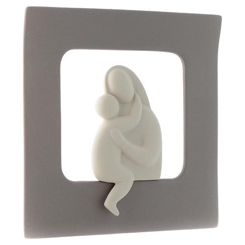 Bassorilievo Maternità gres porcellanato 30X30 cm 2