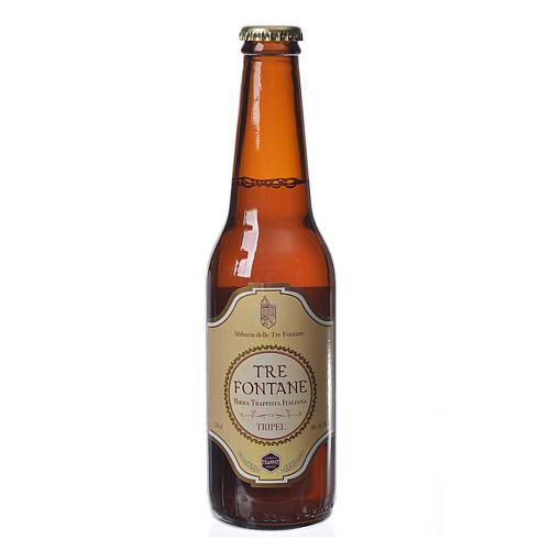 Bière trappiste Moines de l'Abbaye Tre Fontane 33cl 1