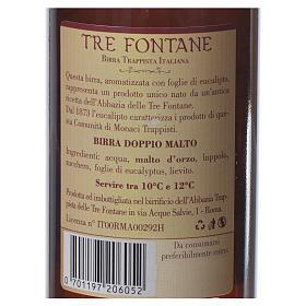 Birra Trappista Monaci delle Tre Fontane 33 cl s6