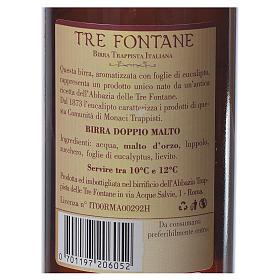 Birra Trappista Monaci delle Tre Fontane 33 cl s2