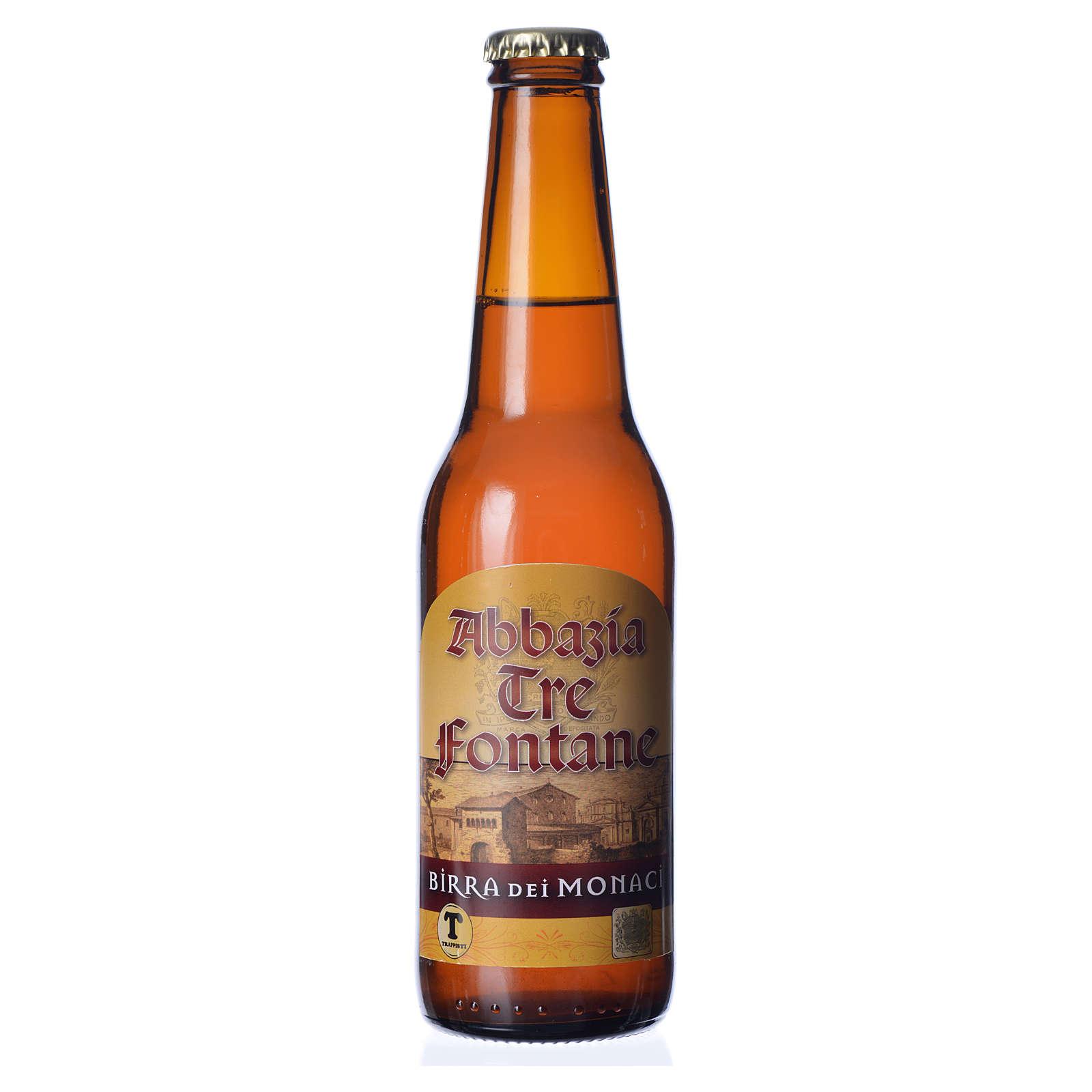 Cerveja Trapista Monges de Tre Fontane 33 cl 3