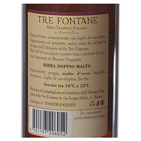 Trappist beer, Tre Fontane Monastery 33cl s2