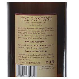 Bière trappiste Moines de l'Abbaye Tre Fontane 75cl s2