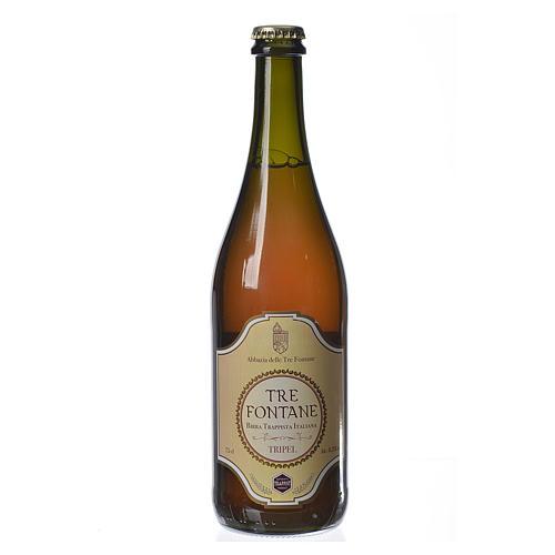 Bière trappiste Moines de l'Abbaye Tre Fontane 75cl 1