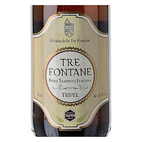 Trappist Monk beer, Tre Fontane Monastery 75cl s3
