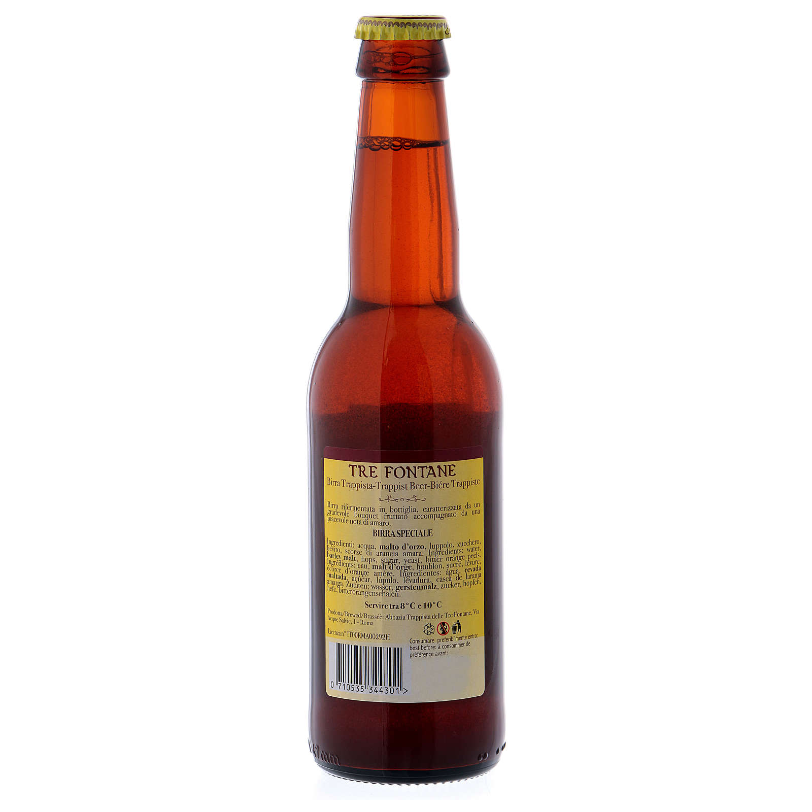 Trappist beer, Tre Fontane Monastery Scala Coeli 33 cl 3