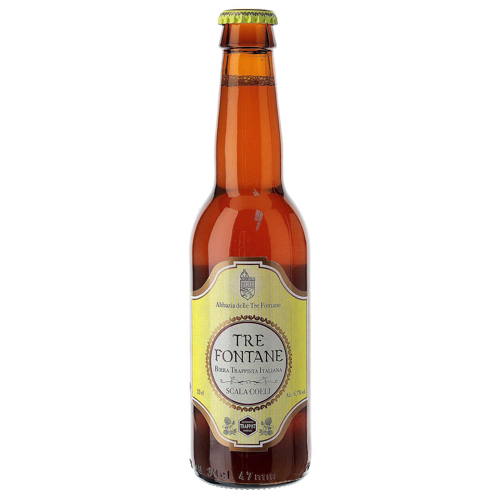 Bière Trappiste Moines Abbazia delle Tre Fontane Scala Coeli 33 cl 3