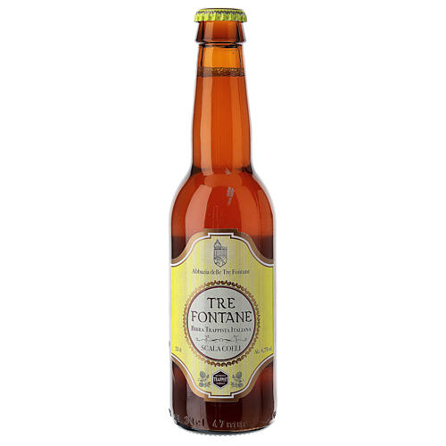 Bière Trappiste Moines Abbazia delle Tre Fontane Scala Coeli 33 cl 1