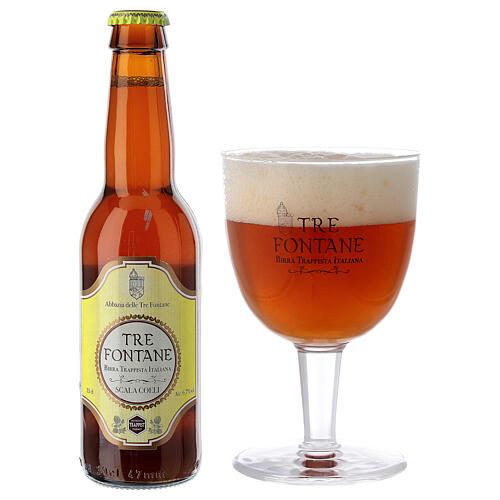 Bière Trappiste Moines Abbazia delle Tre Fontane Scala Coeli 33 cl 2