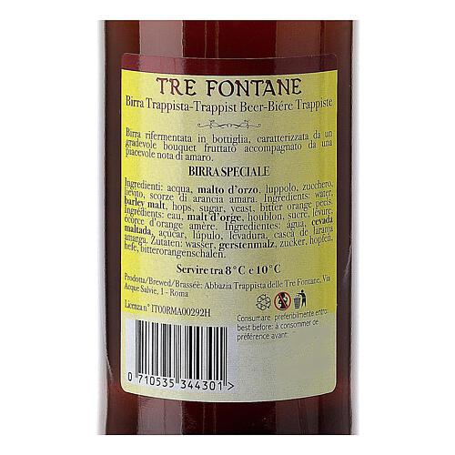 Bière Trappiste Moines Abbazia delle Tre Fontane Scala Coeli 33 cl 4