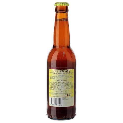 Bière Trappiste Moines Abbazia delle Tre Fontane Scala Coeli 33 cl 5