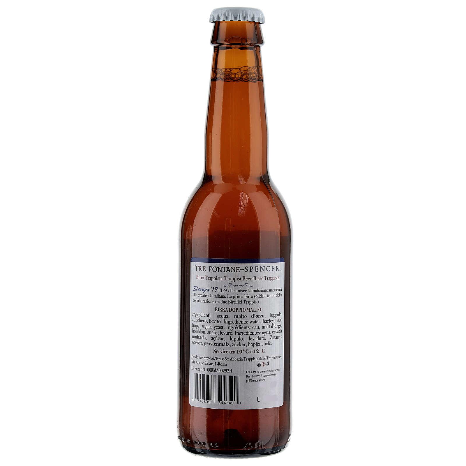 Cerveja Trapista Sinergia 19 Monges Tre Fontane Spencer 33 cl 3