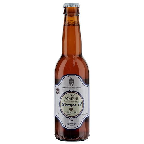 Cerveja Trapista Sinergia 19 Monges Tre Fontane Spencer 33 cl 1