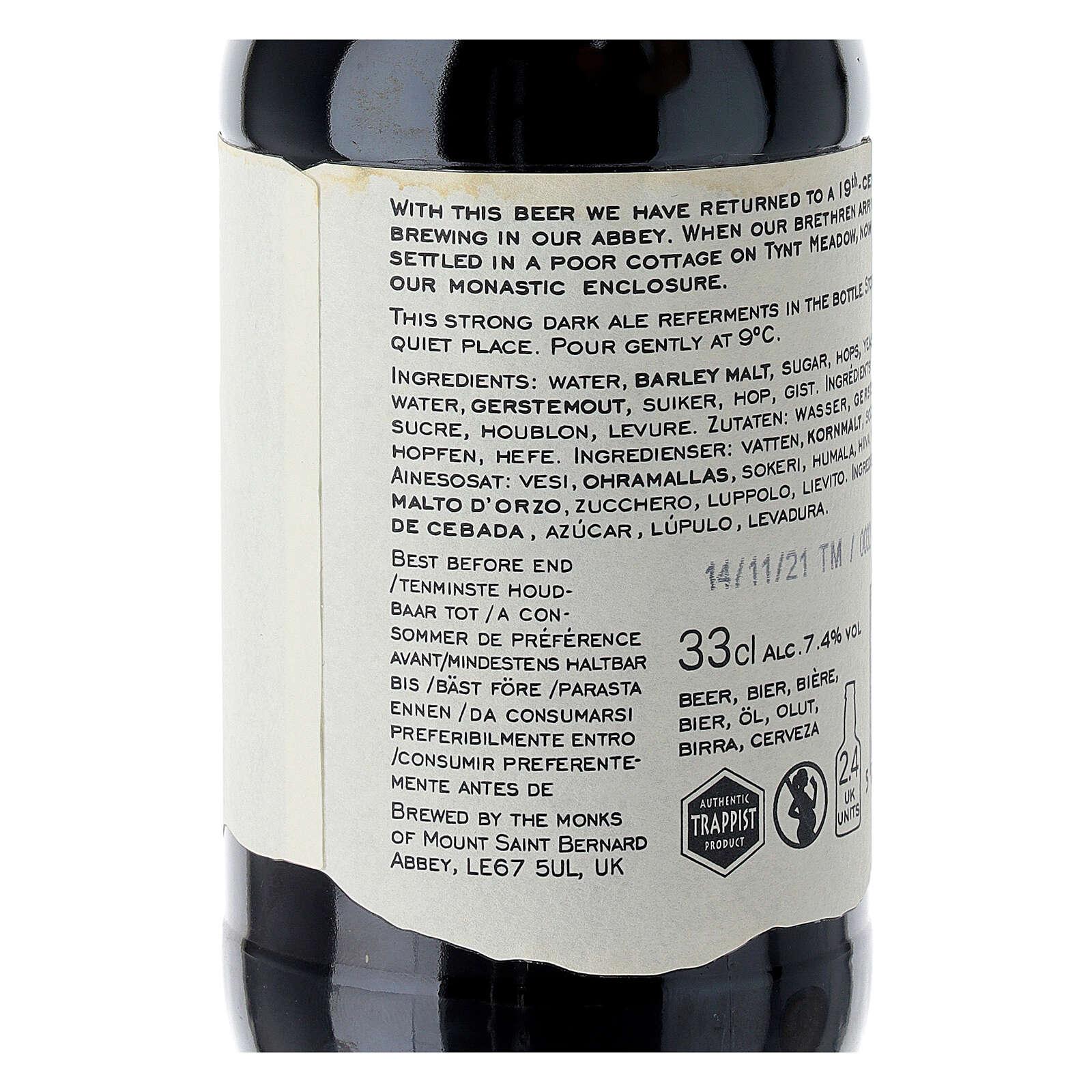 Bière brune Tynt Meadow Trappistes Anglais 33 cl 3
