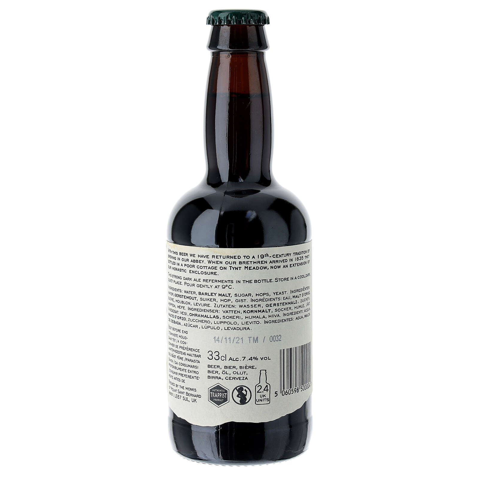 Tynt Meadow Dark English Trappist Beer 33 cl 3