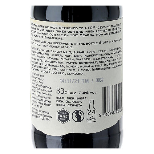 Tynt Meadow Dark English Trappist Beer 33 cl 4