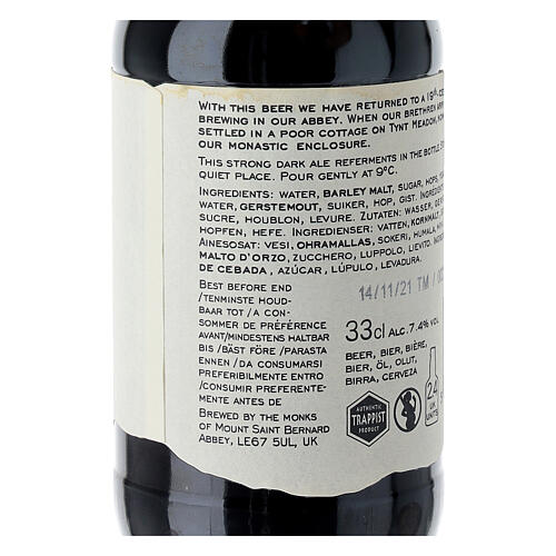 Tynt Meadow Dark English Trappist Beer 33 cl 5