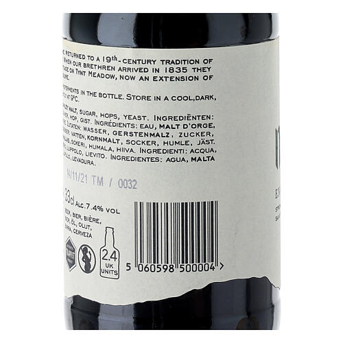 Tynt Meadow Dark English Trappist Beer 33 cl 6