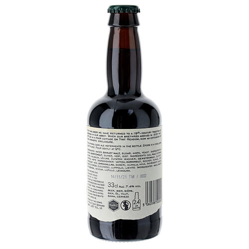 Tynt Meadow Dark English Trappist Beer 33 cl 7