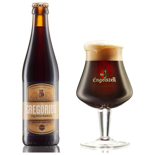 Bière Engelszell Gregorius Trappiste marque d'authenticité 33 cl 2