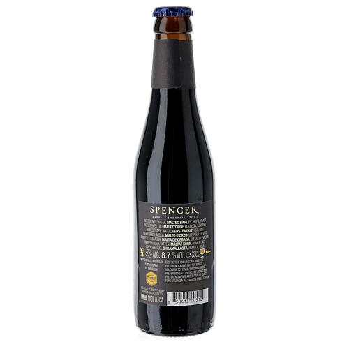 Spencer Trappist Imperial Stout beer 33 cl 6