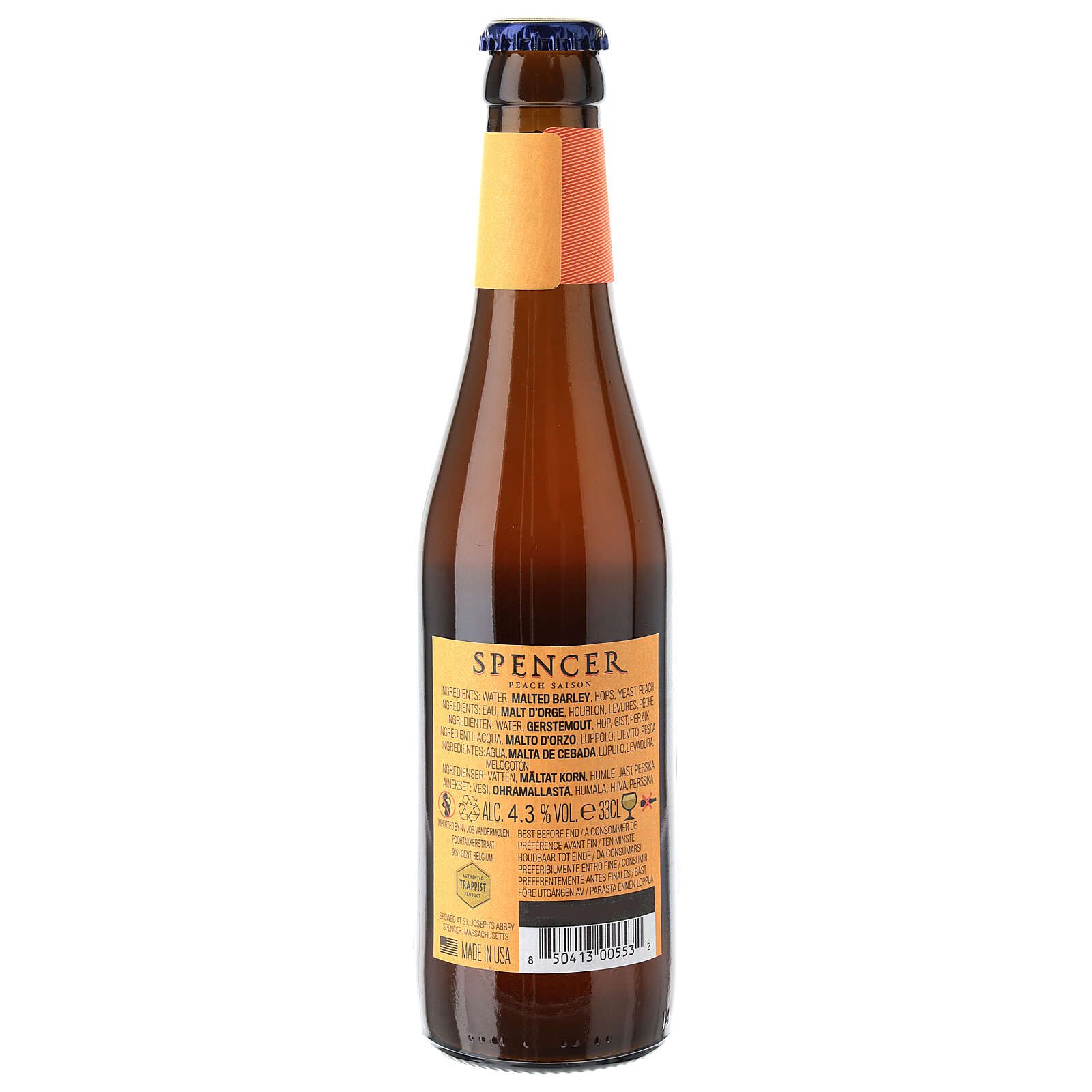 Spencer Fruit Series Farmhouse Ale peach 33 cl 3