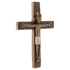Crucifijo de piedra s3