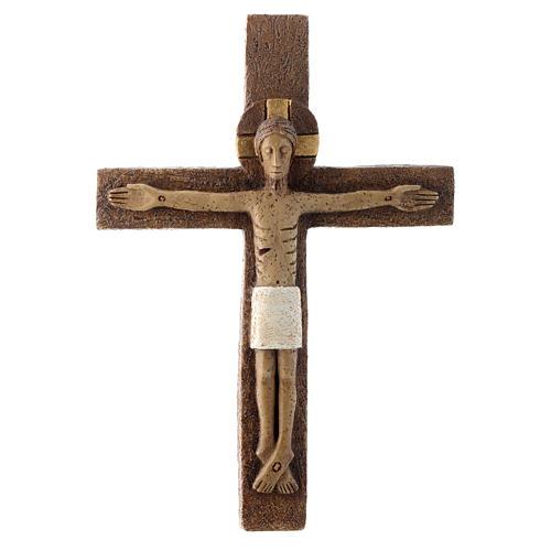 Crucifijo de piedra 1