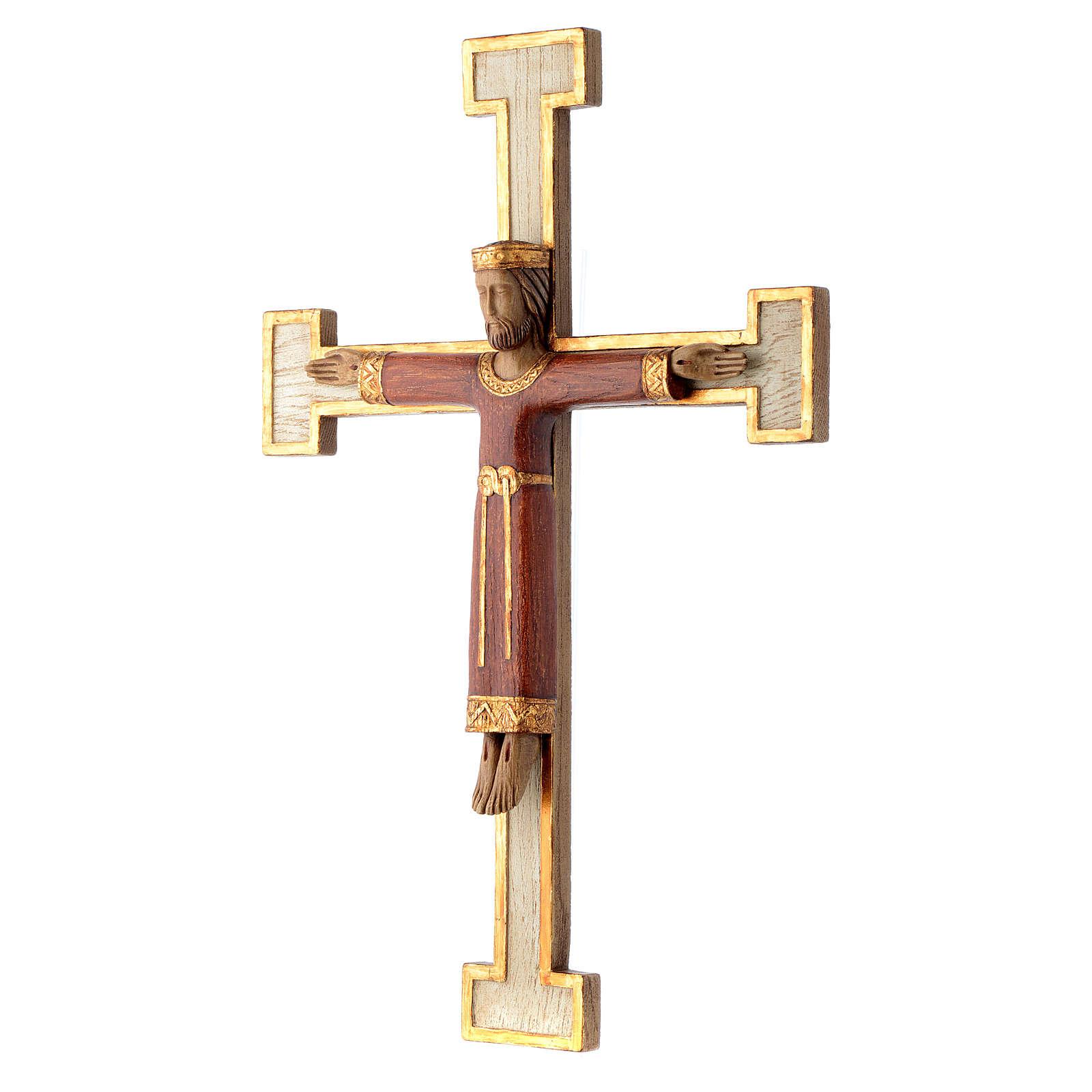 Cristo Sacerdote Re rosso croce bianca 4