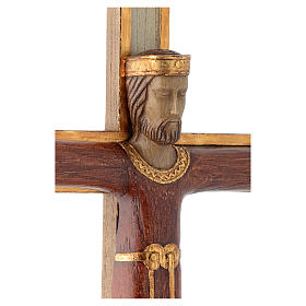 Cristo Sacerdote Re rosso croce bianca s4