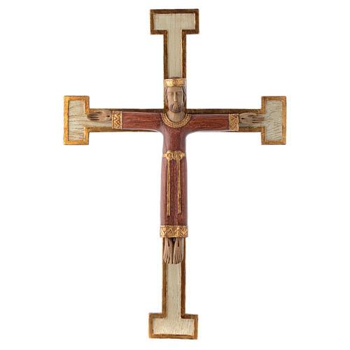 Cristo Sacerdote Re rosso croce bianca 1