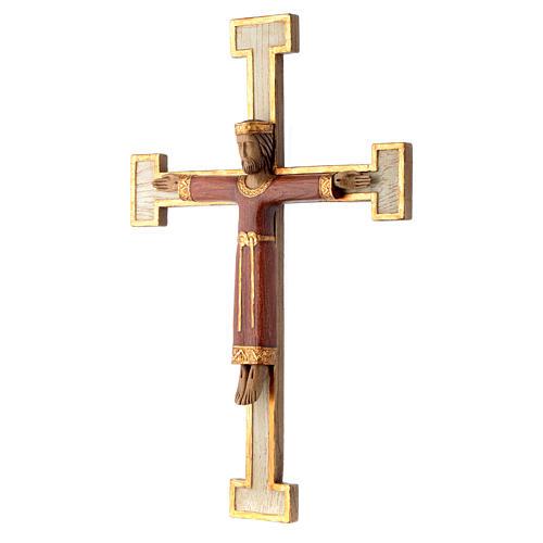 Cristo Sacerdote Re rosso croce bianca 2