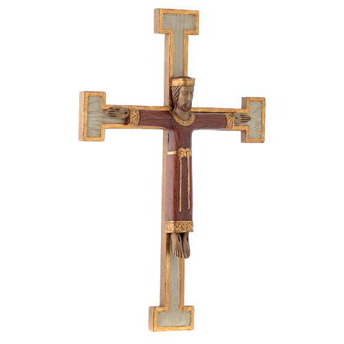 Cristo Sacerdote Re rosso croce bianca 3