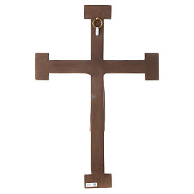 Crucifix en pierre, Chist, roi en blanc, croix blanche s5