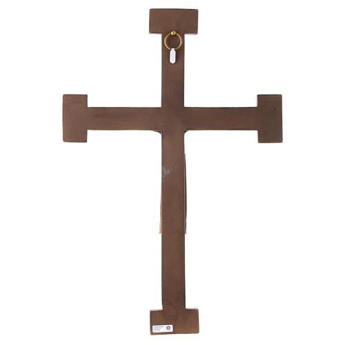 Crucifix en pierre, Chist, roi en blanc, croix blanche 5