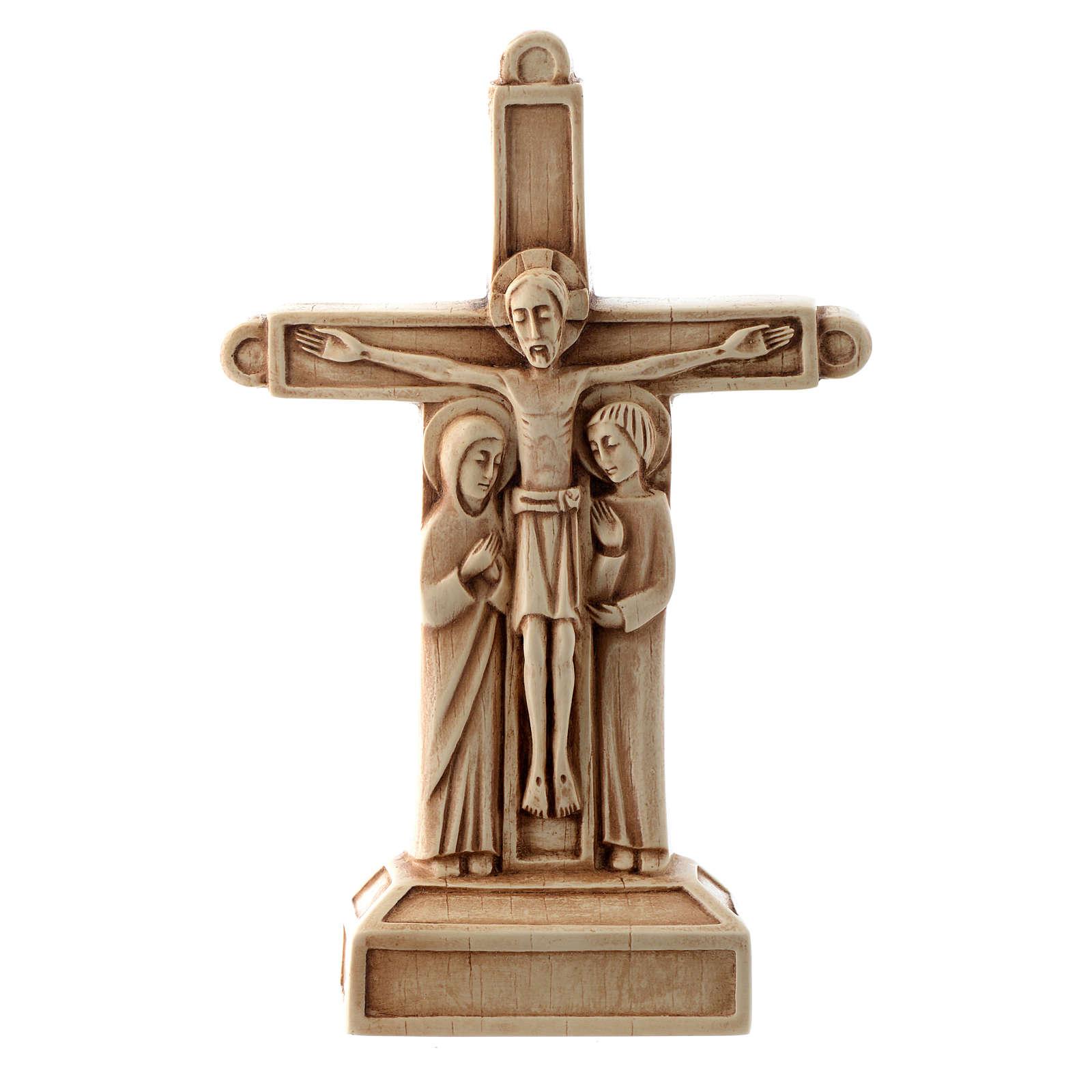 Crucifix en pierre, ivoirine 4