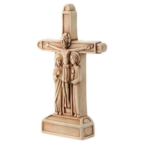 Crucifix en pierre, ivoirine 2
